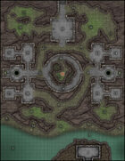 VTT Map Set - #108 The Forgotten Dungeon