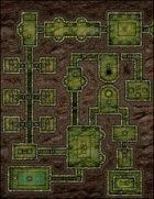 VTT Map Set - #124 What Lies Below the Verdigris Pyramid