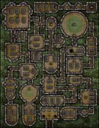 VTT Map Set - #129 Forgotten Tomb of the Once Honoured Knights