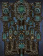 VTT Map Set - #130 The Cerulean Court