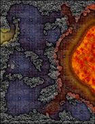 VTT Map Set - #131 The Lava Shrine