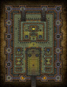 VTT Map Set - #132 The Inner Sanctum