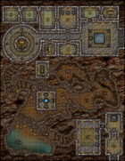 VTT Map Set - #133 Cult of the Undines