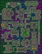 VTT Map Set - #136 The Traveler's Domain