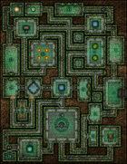VTT Map Set - #138 Quest for the Golden Arks