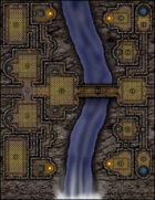 VTT Map Set - #142 Stonekeep Falls