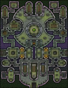 VTT Map Set - #145 Citadel of Lost Knowledge