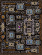 VTT Map Set - #146 Heart of the Temple