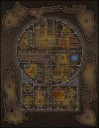 VTT Map Set - #151 Bunker at Skull Mountain