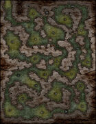 VTT Map Set - #152 Where the Frightful Things Lurk
