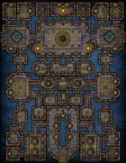 VTT Map Set - #153 The Arena of Heroes
