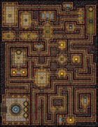 VTT Map Set - #154 Knights' Rest Lodge