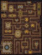VTT Map Set - #154 Knights' Rest Lodge
