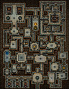 VTT Map Set - #156 Dungeon of the Despot Archmage
