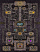 VTT Map Set - #157 Court of the Fey King