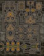 VTT Map Set - #161 Dwarven Hold of Mountain Pass