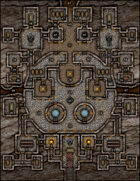 VTT Map Set - #162 The Cathedral Catacombs