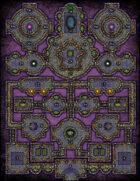 VTT Map Set - #164 Bastion of the Alexandrite Empress