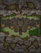 VTT Map Set - #166 Temple of the Valley