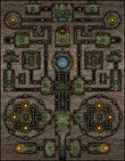VTT Map Set - #168 The Dwarf King's Stash