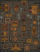 VTT Map Set - #169 The Alabasterstar Keep