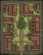 VTT Map Set - #171 Walled Trading Post