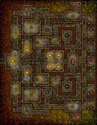 VTT Map Set - #174 Sacrifice to the Sun Queen