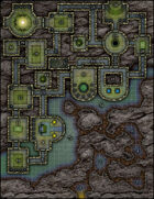 VTT Map Set - #177 Ritual of the Dragonlords