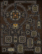 VTT Map Set - #180 Phylactery of the Madam Lich