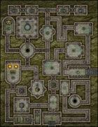VTT Map Set - #181 Jungle Ruins