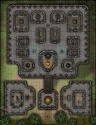 VTT Map Set - #184 The Cursed Ziggurat