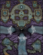 VTT Map Set - #186 Shrine of Convergence