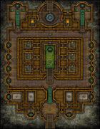 VTT Map Set - #193 The Jade Temple