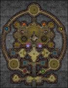 VTT Map Set - #195 Vault of the Elements