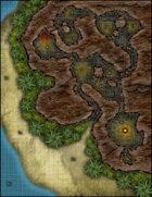 VTT Map Set - #198 Pirate's Cove