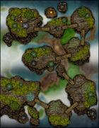 VTT Map Set - #202 Isles in the Sky