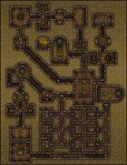 VTT Map Set - #204 Beneath the Fifth Pyramid