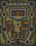 VTT Map Set - #210 Castle Stronghold