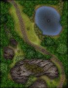 VTT Map Set - #217 Forest Trail Environment
