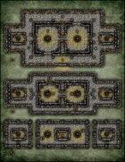 VTT Map Set - #220 Siege of Tristone Tower