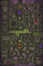 VTT Map Set - #222 Underworld Mega-Dungeon #5