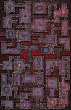 VTT Map Set - #226 Underworld Mega-Dungeon #9