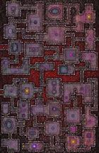 VTT Map Set - #226 Underworld Mega-Dungeon #9