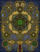 VTT Map Set - #230 Sanctuary of the Divine Butterfly