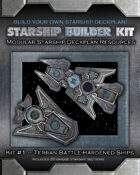Starship Builder Kit: #1 - Terran Battle-Hardened Ships