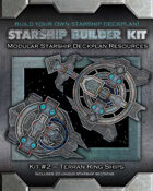 Starship Builder Kit: #2 - Terran Ring Ships