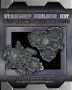 Starship Builder Kit: #3 - Terran Freighters