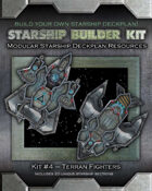 Starship Builder Kit: #4 - Terran Fighters