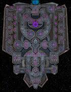 VTT Map Set - #249 Starship Deckplan: Deep Space Salvage Cargo Hauler