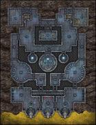 VTT Map Set - #259 Vault at Fort Alta Rupe